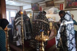«28 февраля 2018 года, в день памяти  святого апостола от 70-ти Онисима в Казанском храме села Царёво состоялось Соборное Богослужение духовенства Ермишинского благочиния.»