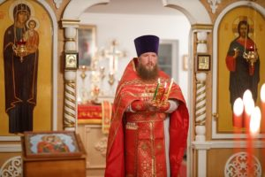 «В ночь на 2 мая 2021 года, в праздник Светлого Христова Воскресения, в Архангельском храме п.Ермишь состоялось Пасхальное богослужение.»